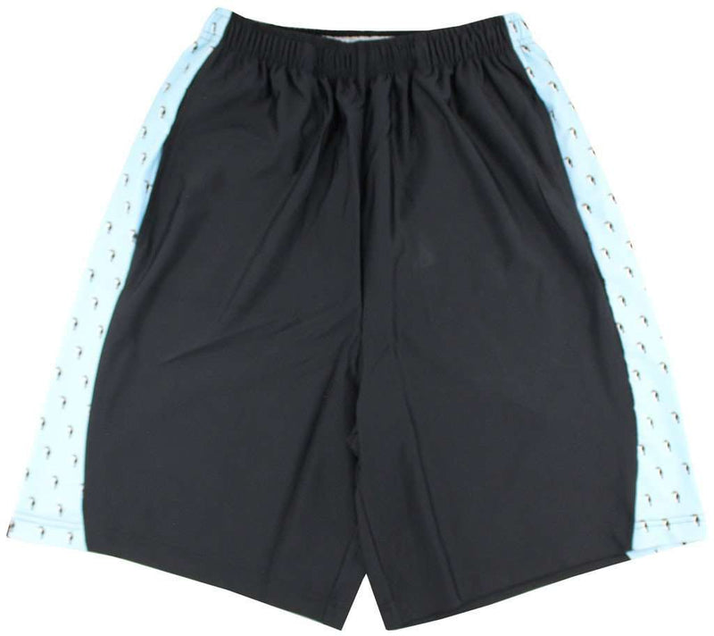 Men's Shorts - Puffin Penguin Shorts In Black By Krass & Co.