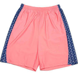 Men's Shorts - Sea King Shark Shorts In Coral By Krass & Co. - FINAL SALE