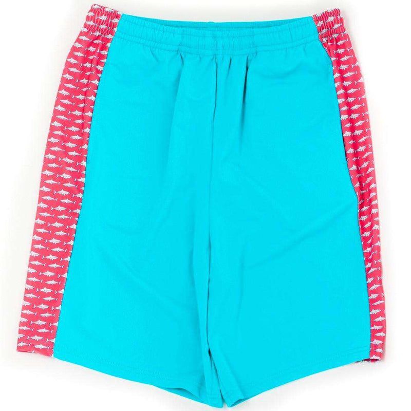 Men's Shorts - Sea King Shark Shorts In Ocean Blue By Krass & Co.