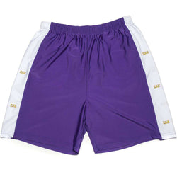 Men's Shorts - Sigma Alpha Epsilon Shorts In Royal Purple By Krass & Co. - FINAL SALE