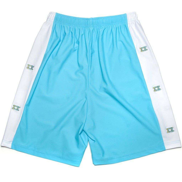 Men's Shorts - Sigma Chi Shorts In Ocean Blue By Krass & Co. - FINAL SALE