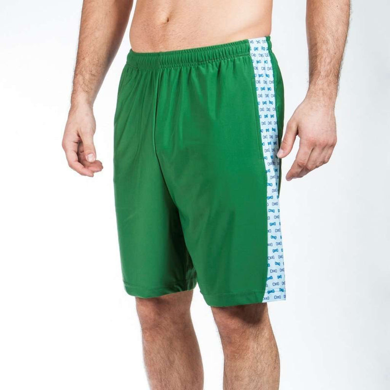 Stay Classy Shorts in Hunter Green by Krass & Co. - FINAL SALE