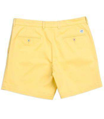 "Summer Weight 9"" Channel Marker Short in Sunshine by Southern Tide - FINAL SALE"
