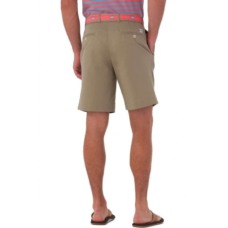 "Summer Weight 9"" Channel Marker Shorts in Sandstone Khaki by Southern Tide"
