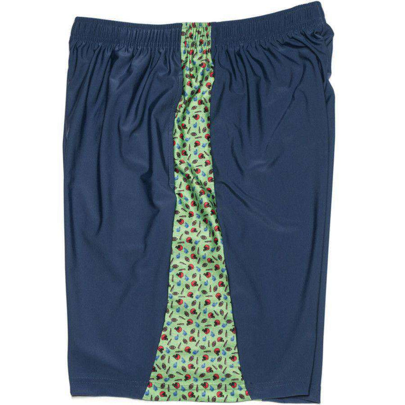 Men's Shorts - Tailgate Shorts In Navy By Krass & Co. - FINAL SALE