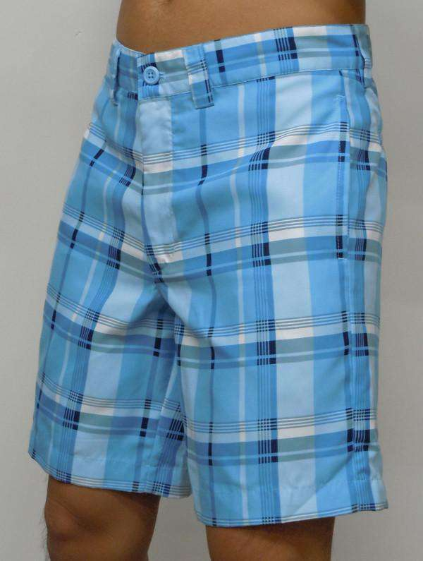Men's Shorts - Tamarac Classic Fit Short In Blue By Liquid Flow