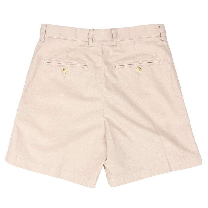 "The 7"" Skipjack Short in Stone by Southern Tide"