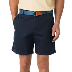 "Men's Shorts - The 7"" Skipjack Short In True Navy By Southern Tide"