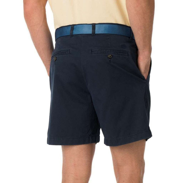 "The 7"" Skipjack Short in True Navy by Southern Tide"