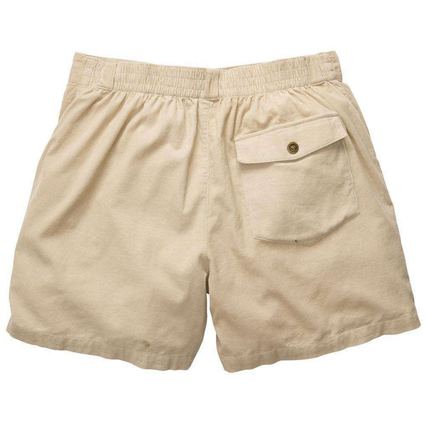 The Atlantic Short in Khaki by Southern Proper - FINAL SALE
