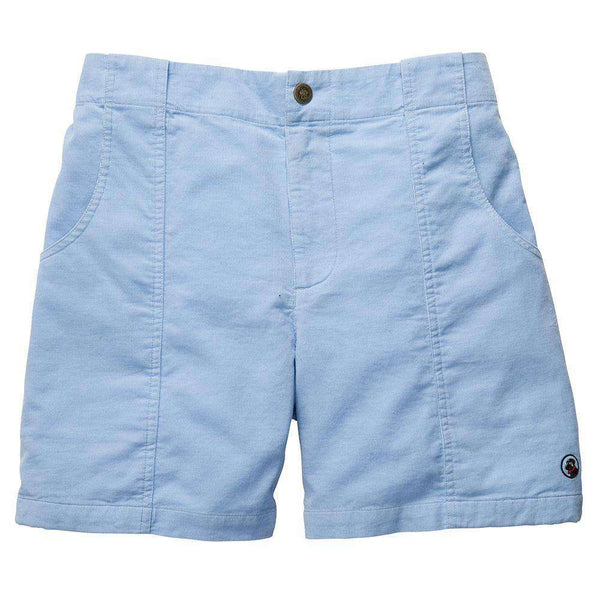 Men's Shorts - The Atlantic Short In Light Blue By Southern Proper - FINAL SALE