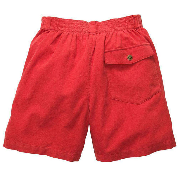The Atlantic Short in Red by Southern Proper - FINAL SALE
