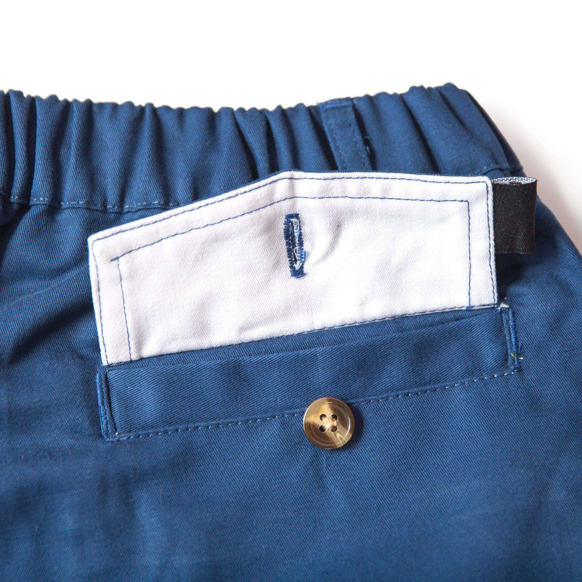 "Men's Shorts - The Deep Seas 5.5"" Shorts In Navy By Kennedy"