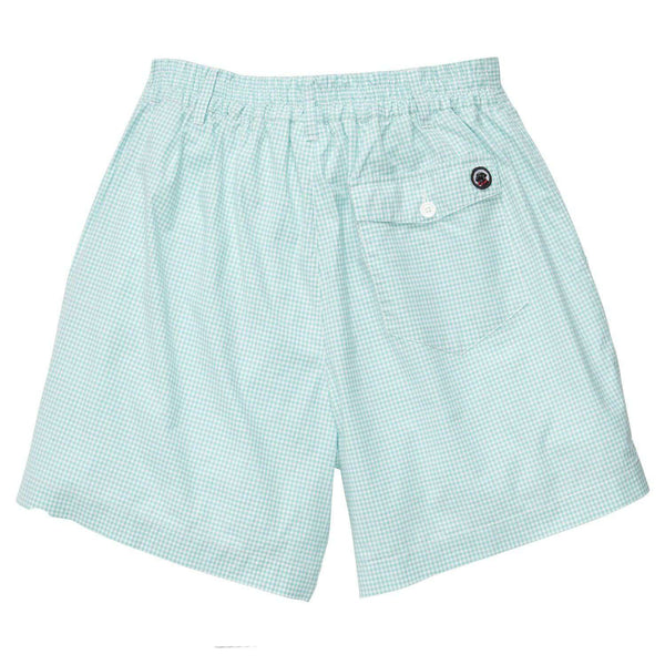 The Gingham Short in Duck Egg Green by Southern Proper - FINAL SALE