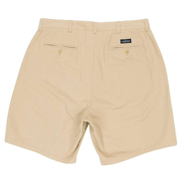 "The Regatta 8"" Short Flat Front in Khaki by Southern Marsh"