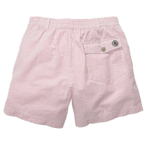 The Seersucker Short in Pink by Southern Proper - FINAL SALE