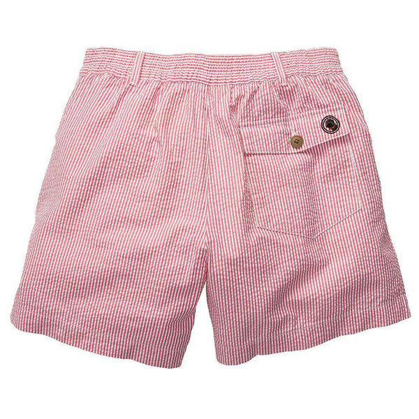 The Seersucker Short in Red by Southern Proper - FINAL SALE
