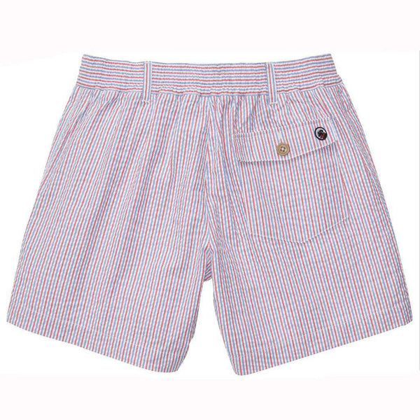 The Seersucker Short in Red, White and Blue by Southern Proper