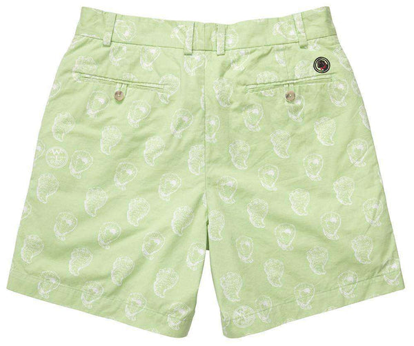 The Shucker Short in Lime Green by Southern Proper - FINAL SALE