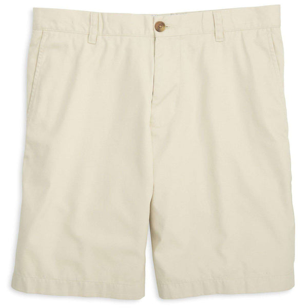 "Men's Shorts - The Skipjack 9"" Short In Stone By Southern Tide"