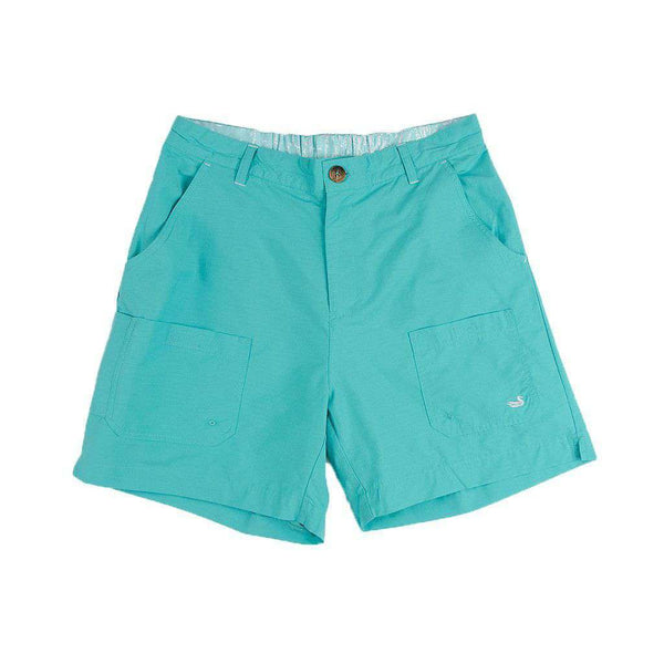 Men's Shorts - The Tarpon Flats Fishing Short In Antigua Blue By Southern Marsh