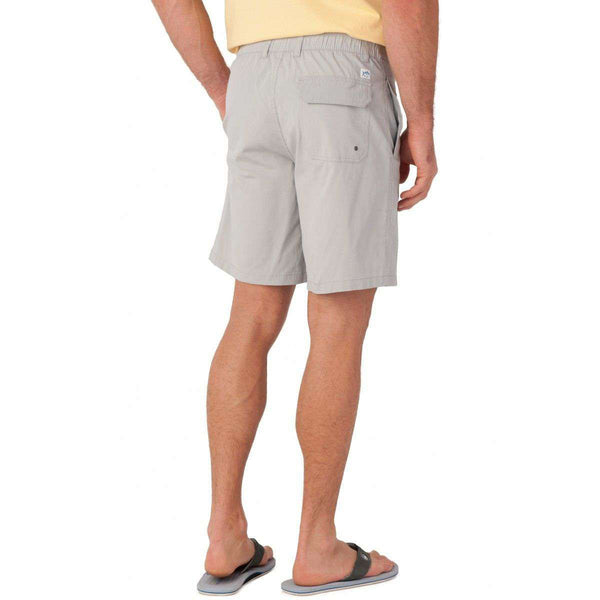 Tide to Trail Performance Shorts in Harpoon Grey by Southern Tide