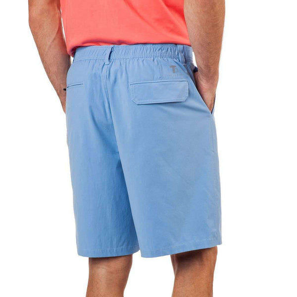 Tide to Trail Performance Shorts in Ocean Channel by Southern Tide