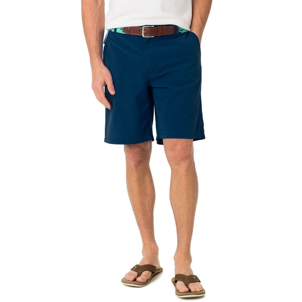 Men's Shorts - Tide To Trail Performance Shorts In Yacht Blue By Southern Tide