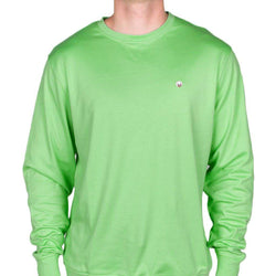 d2f90a19 Cotton Boll Embroidered Crewneck Sweatshirt in Mint by Cotton Brothers - FINAL  SALE