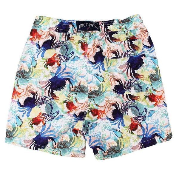 Crabs Swim Trunks in Navy and White by Michael's - FINAL SALE