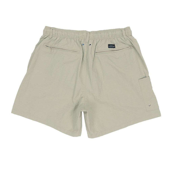 Men's Swimsuits - Dockside Swim Trunk In Audubon Tan By Southern Marsh