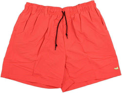 Men's Swimsuits - Dockside Swim Trunk In Coral By Southern Marsh