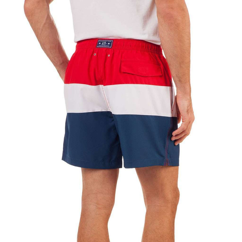 Freedom Rocks Color Block Swim Trunk by Southern Tide - FINAL SALE