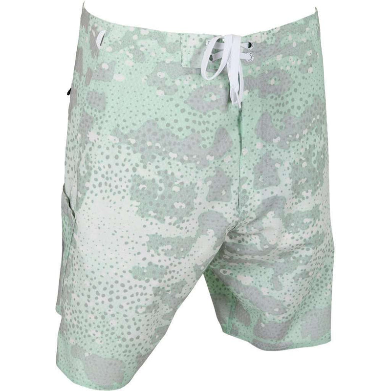 Grouper Boardshorts in Silver by AFTCO - FINAL SALE