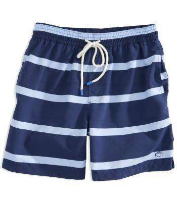 Men's Swimsuits - Riptide Swim Trunks In Navy By Southern Tide