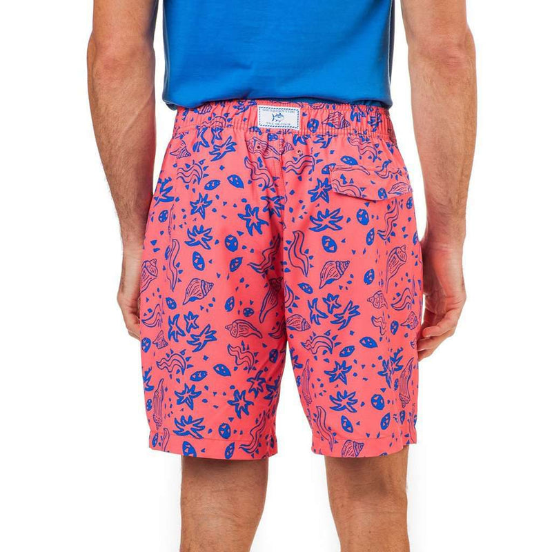 Sea Party Water Short in Sunset Coral by Southern Tide - FINAL SALE