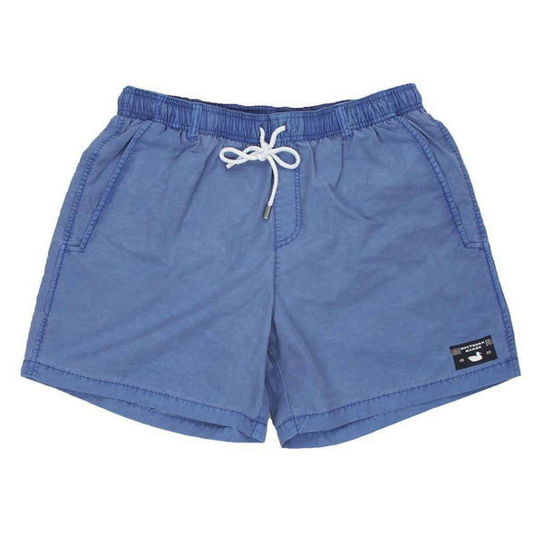 Men's Swimsuits - SEAWASH™ Shoals Swim Trunk In Washed Blue By Southern Marsh