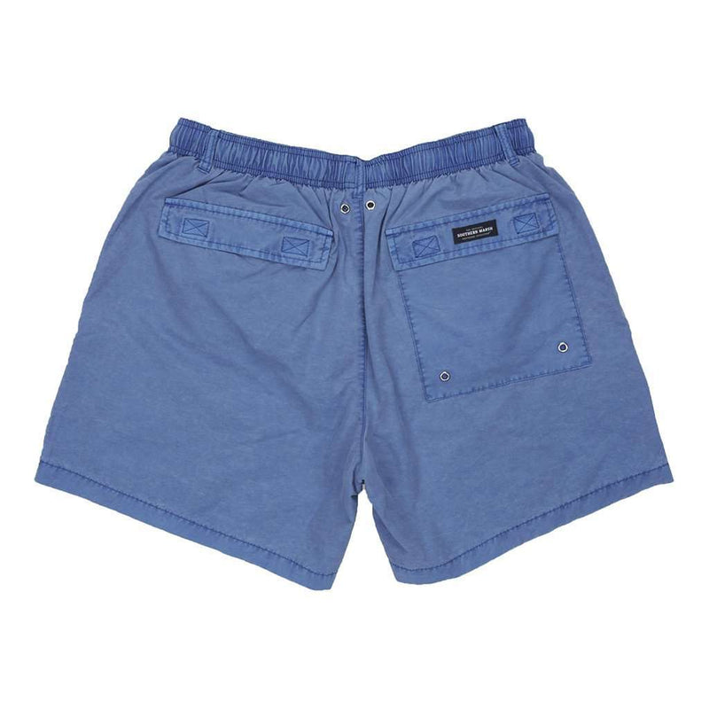 SEAWASH™ Shoals Swim Trunk in Washed Blue by Southern Marsh - FINAL SALE