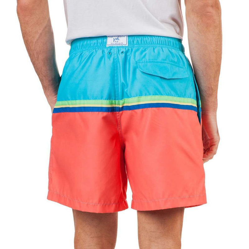 Skipjack Rising Swim Trunk in Scuba Blue by Southern Tide - FINAL SALE