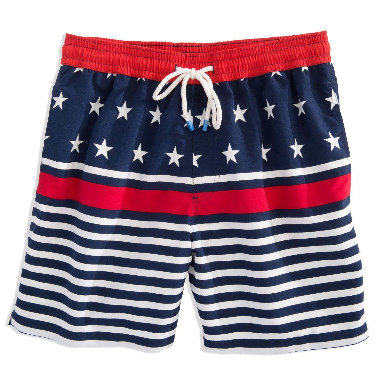 Men's Swimsuits - Stars And Stripes Swim Trunk By Southern Tide