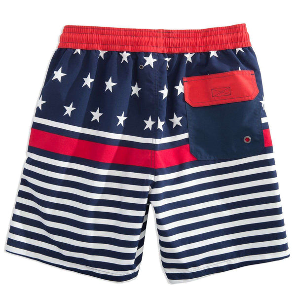 Stars and Stripes Swim Trunk by Southern Tide - FINAL SALE