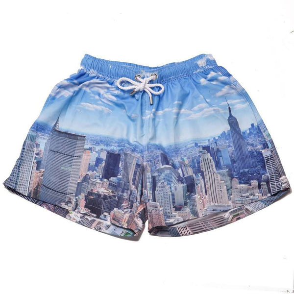 a73dd56af863d Men's Swimsuits - The New York New Yorks Swim Trunks By Kennedy - FINAL SALE