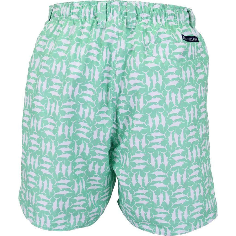 Tick Tack Swim Trunks in Fern by AFTCO - FINAL SALE