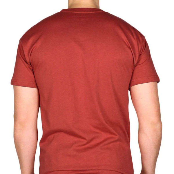 Adventure Vehicle Tee Shirt in Brick Red by YETI