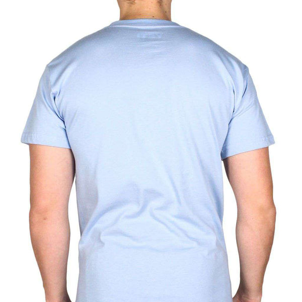 Men's Tee Shirts - Adventure Vehicle Tee Shirt In Carolina Blue By YETI