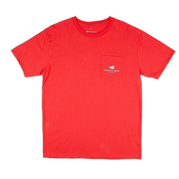 American Class Tee in Red by Southern Marsh