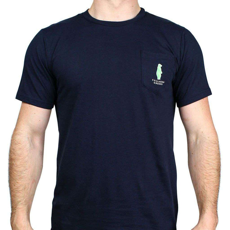 American Made Sailboat Tee in Navy by Collared Greens