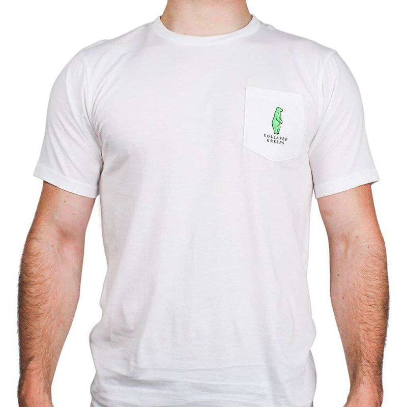 American Made Sailboat Tee in White by Collared Greens