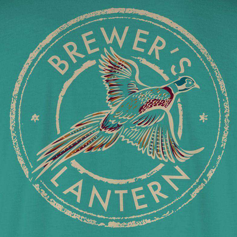 Arthur's Pheasant Long Sleeve Tee in Highlands Green by Brewer's Lantern