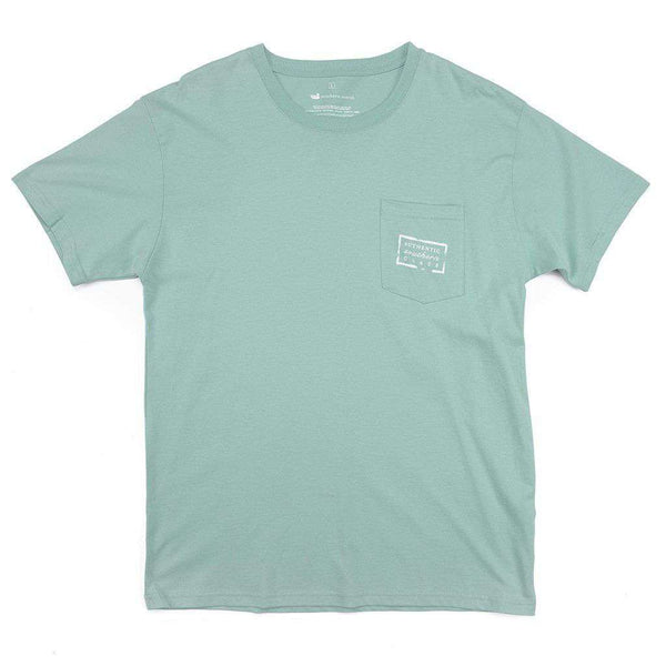 Men's Tee Shirts - Authentic Tee In Seafoam By Southern Marsh
